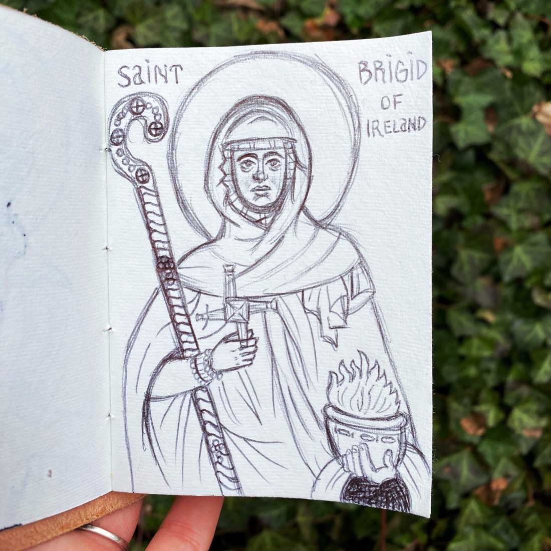 saint-brigid-of-ireland-drawing