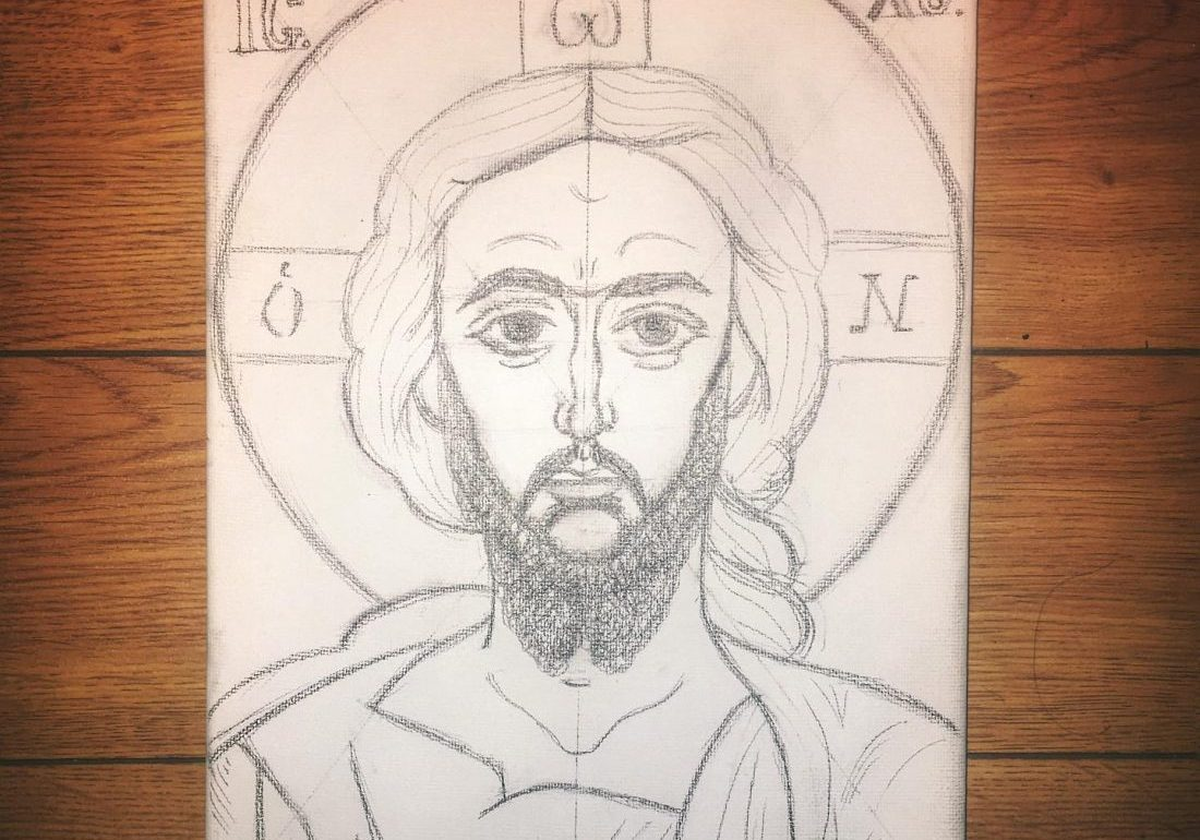 sketch-of-christ-painting